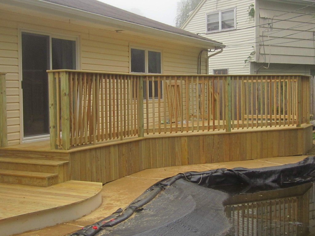 Affordable Wood Deck