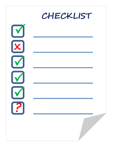 Construction Loan Checklist